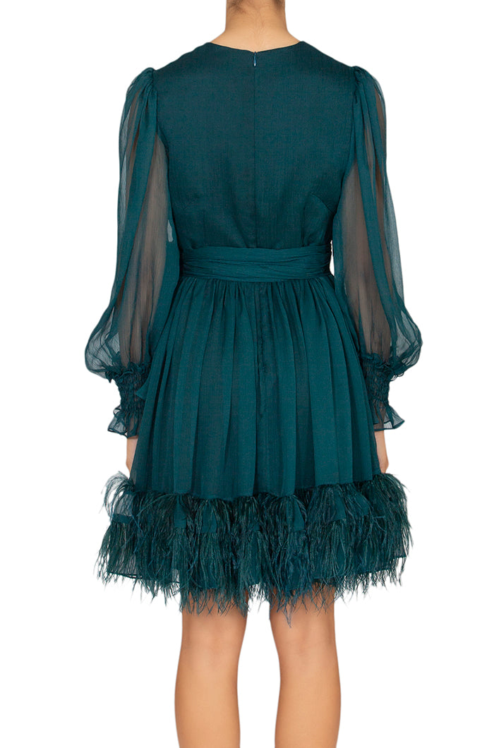 Moss Chiffon Dress