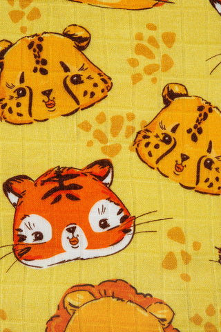 Big Cats - Tula Baby Blanket