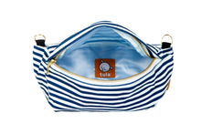 Navy Stripes - Tula Hip Pouch
