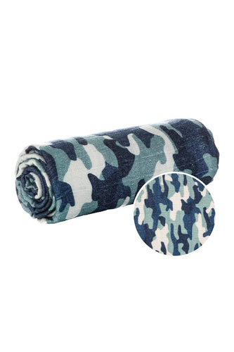 Honor Camo - Tula Baby Blanket