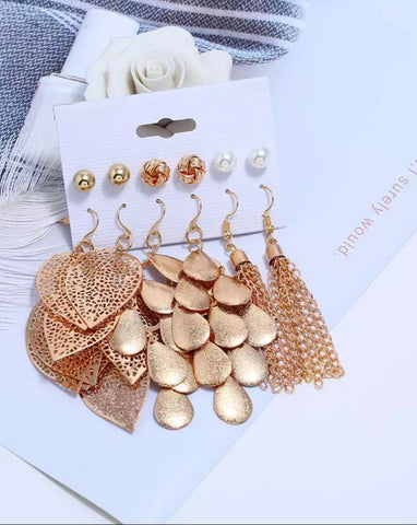 Drop ya Tassel Earrings