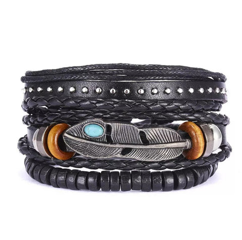 Biker Friendship Pulsera