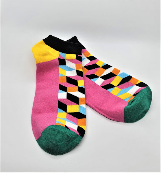 Luxury Geometric Men's Socks