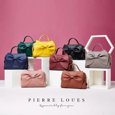 Classy Pierre Loues Bow Bag