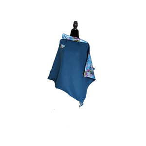 Flossy Bel Luxury Wool Cape