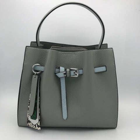 BB.GG Calfskin top-handle bag
