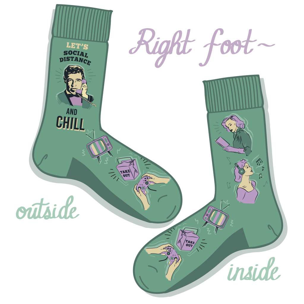 Social Distance and Chill Socks