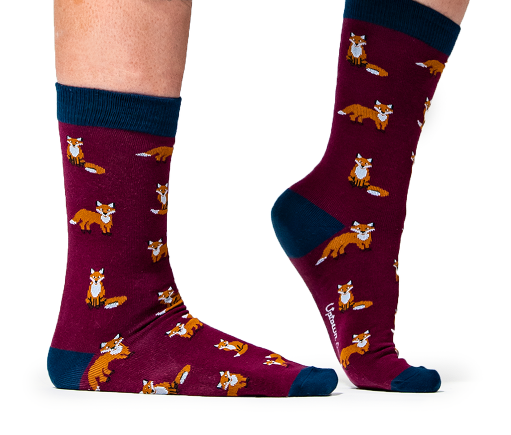 Feeling Foxy Socks