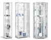 White Glass Display Cabinets