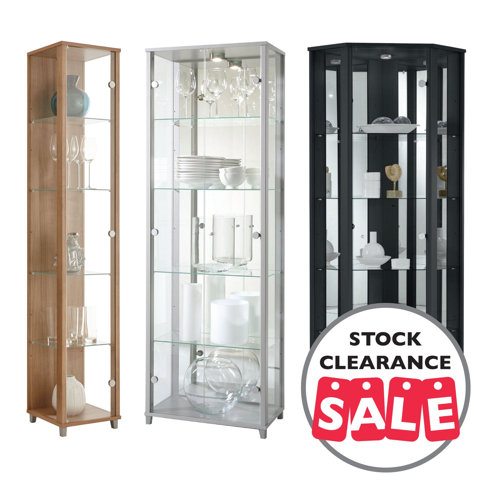 Reduced to Clear Display Cabinets – Display Cabinets UK