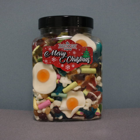 Large Jelly Sweet Jar