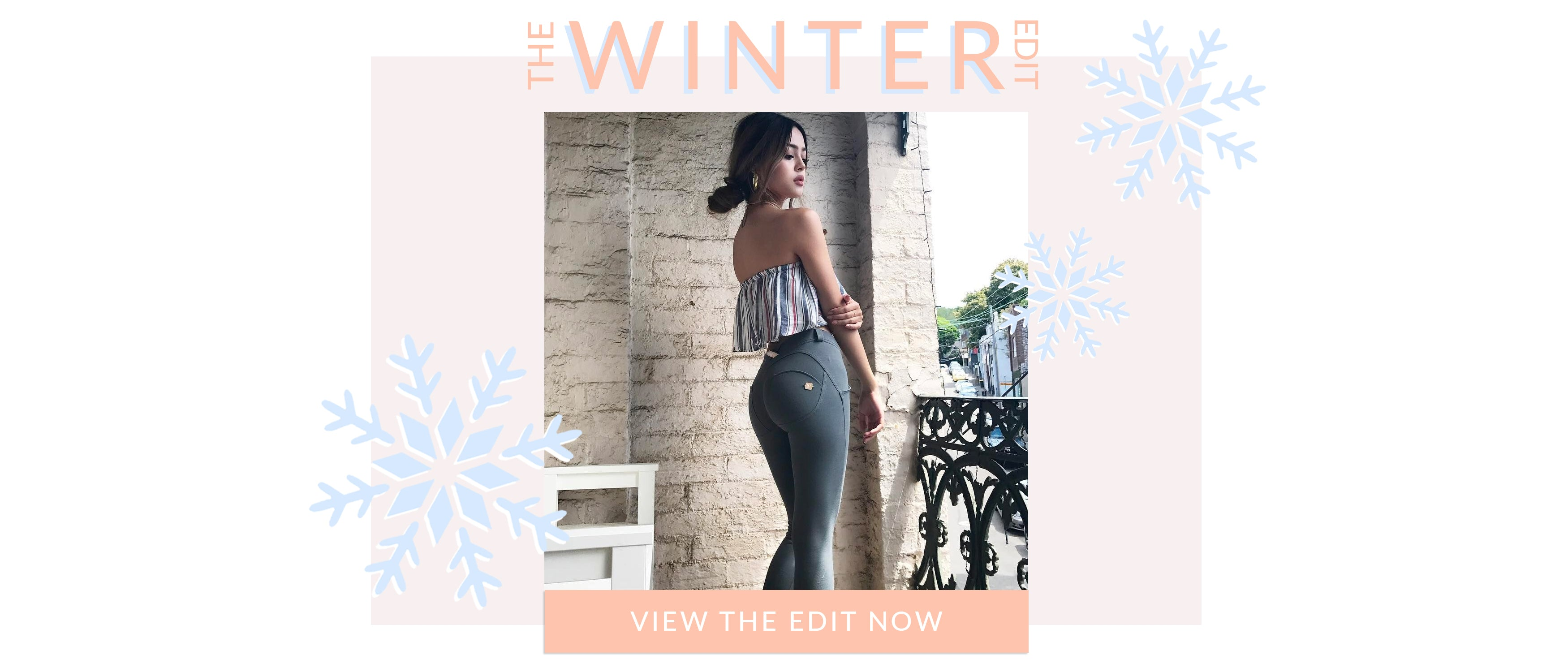 The winter edit. View the edit now
