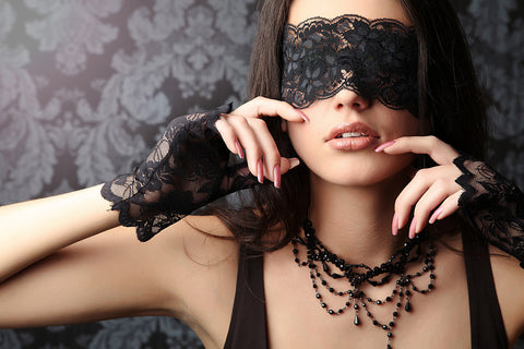 Buy lace masks, handcuffs, whips, and other burlesque items online