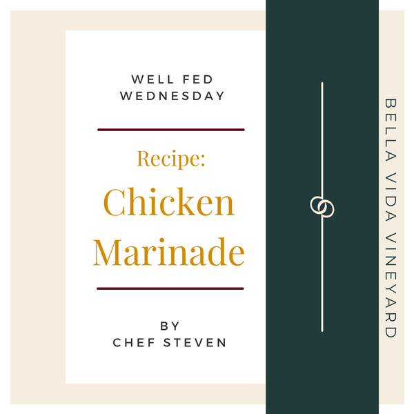 Chef Steven's Chicken Marinade