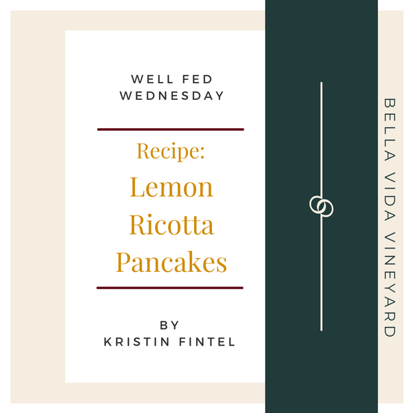 Guest Chef - Lemon Ricotta Pancake Recipe