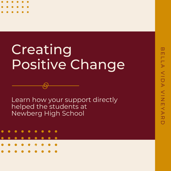 Creating Positive Change In Our Community