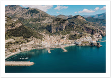 Load image into Gallery viewer, Amalfi by Drone Premium Semi-Glossy Paper Poster