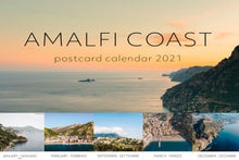Load image into Gallery viewer, Amalfi Coast Postcard Calendar 2021