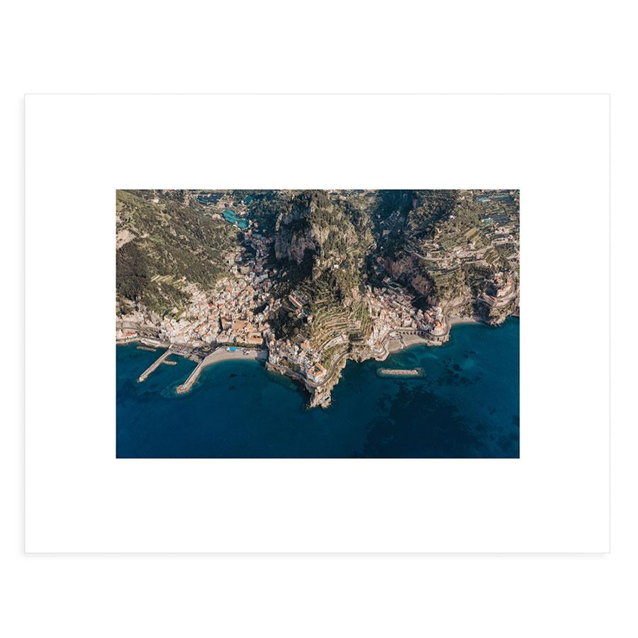 Amalfi Drone View Gallery Board