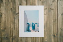 "Load image into Gallery viewer, ""Blue Door"" Santorini Gallery Board"