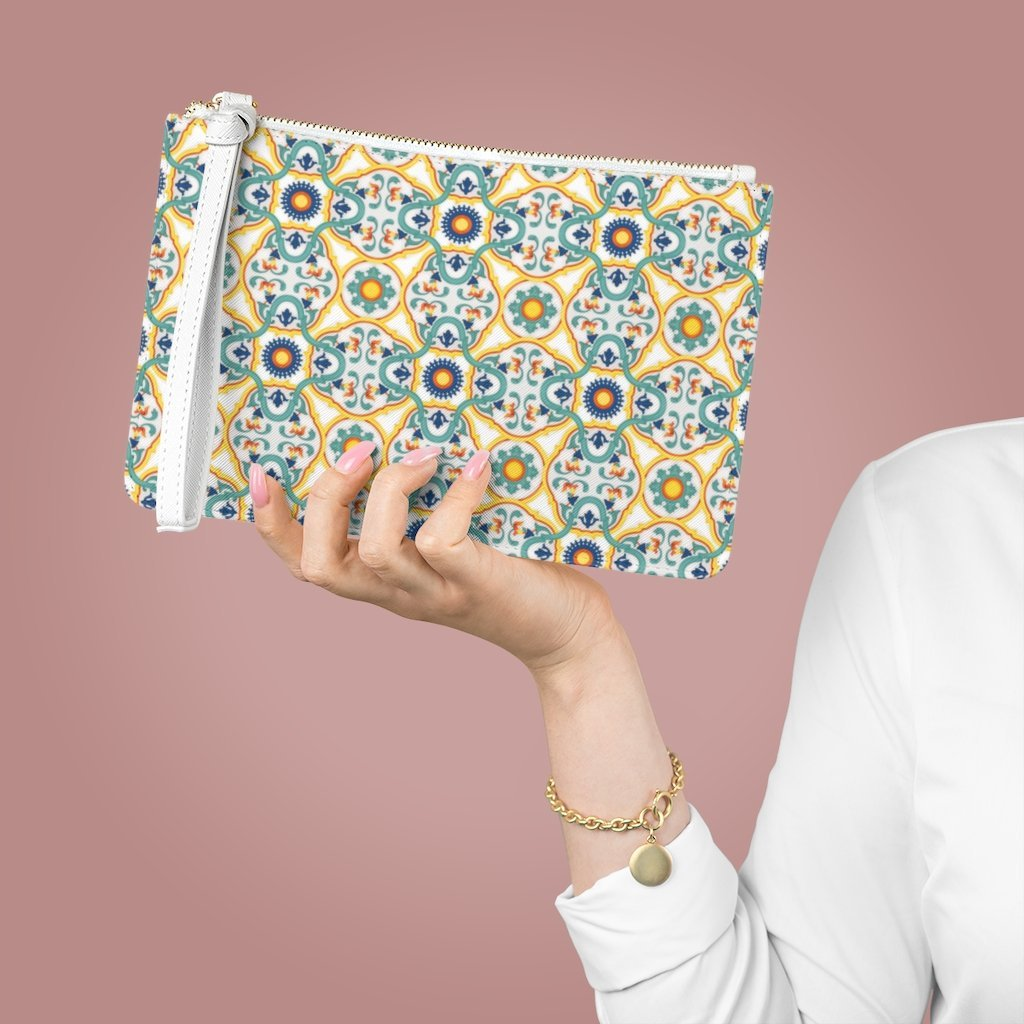 Capri Tiles Clutch Bag - AMALFITANA STORE