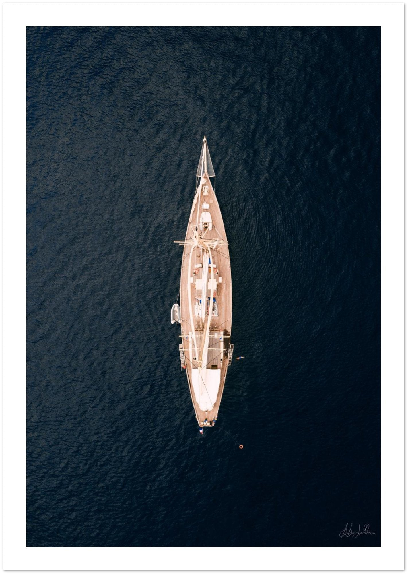 """Cruise collection"" Limited Edition Amalfi Coast Premium Semi-Glossy Print"