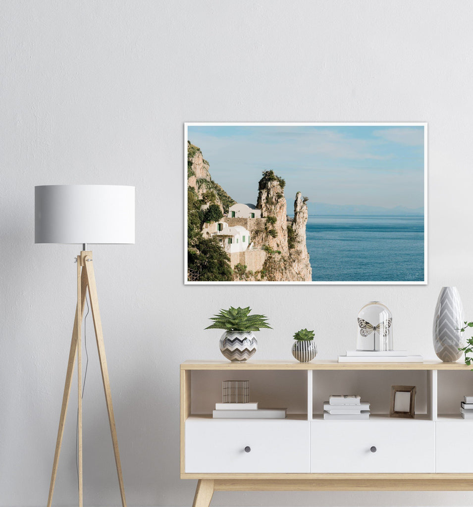 """House by the Sea"" Premium Semi-Glossy Print"