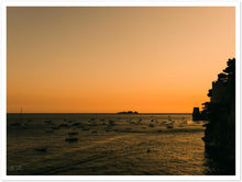 "Load image into Gallery viewer, ""Li Galli"" Sunset in Positano Premium Semi-Glossy Print"