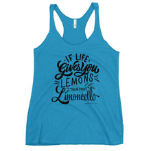 "Load image into Gallery viewer, ""Limoncello"" Women's Racerback Tank - AMALFITANA STORE"