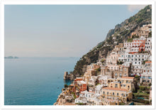 Load image into Gallery viewer, Positano Buildings Premium Semi-Glossy Print