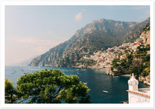"Load image into Gallery viewer, Positano View from ""Villa Tre Ville"" Premium Semi-Glossy Print"