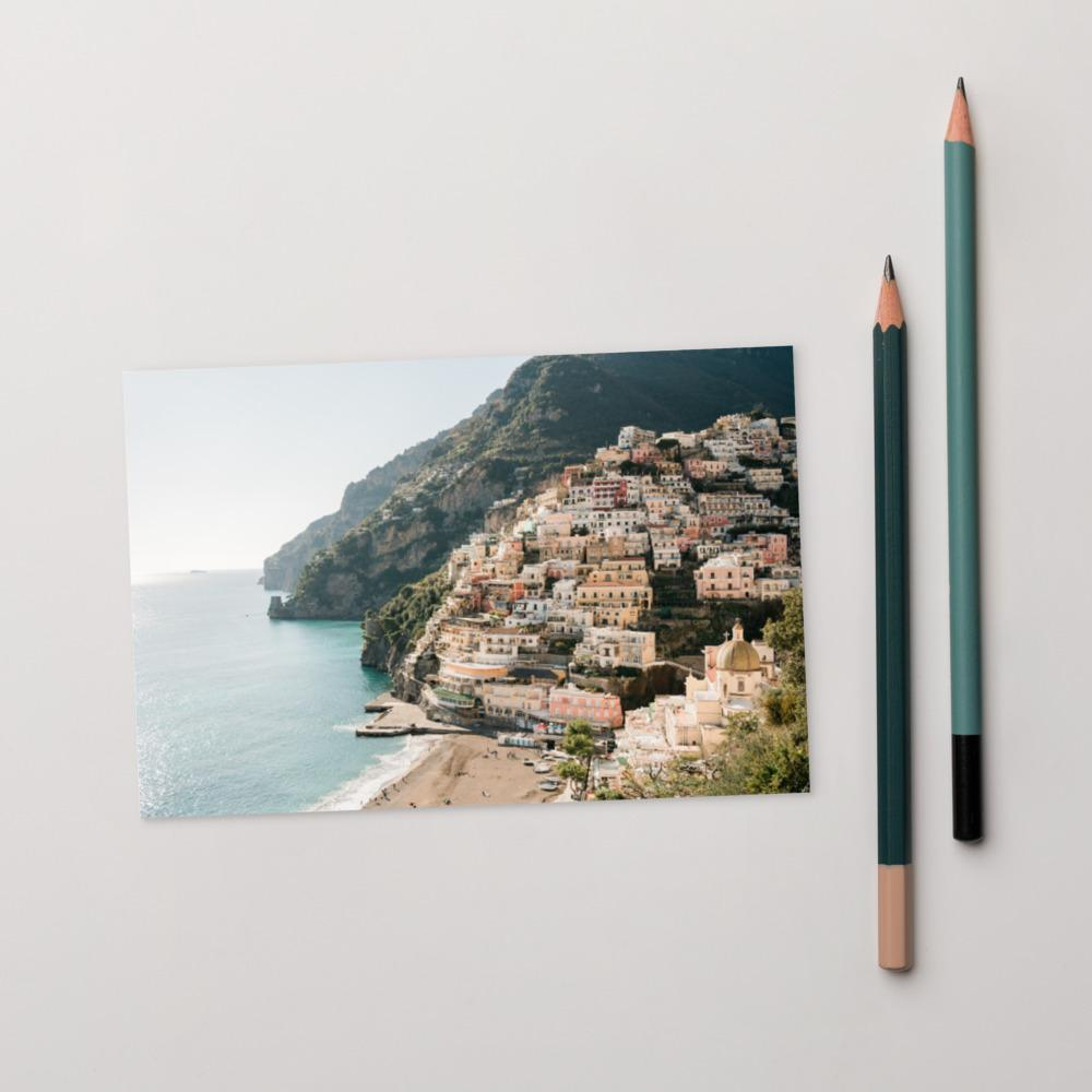 Positano View Postcard