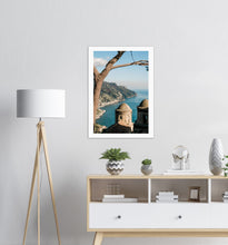 "Load image into Gallery viewer, ""Postcard"" from Ravello Premium Semi-Glossy Print - AMALFITANA STORE"