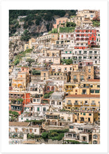 "Load image into Gallery viewer, ""Positano Buildings"" Premium Semi-Glossy Paper Poster"
