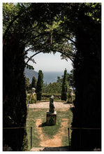 "Load image into Gallery viewer, ""Statue"" Garden in Ravello Fine Art Print - AMALFITANA STORE"