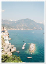 Load image into Gallery viewer, Summer in Atrani Premium Semi-Glossy Print