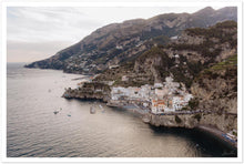 Load image into Gallery viewer, Summer Sunset in Atrani Premium Semi-Glossy Print