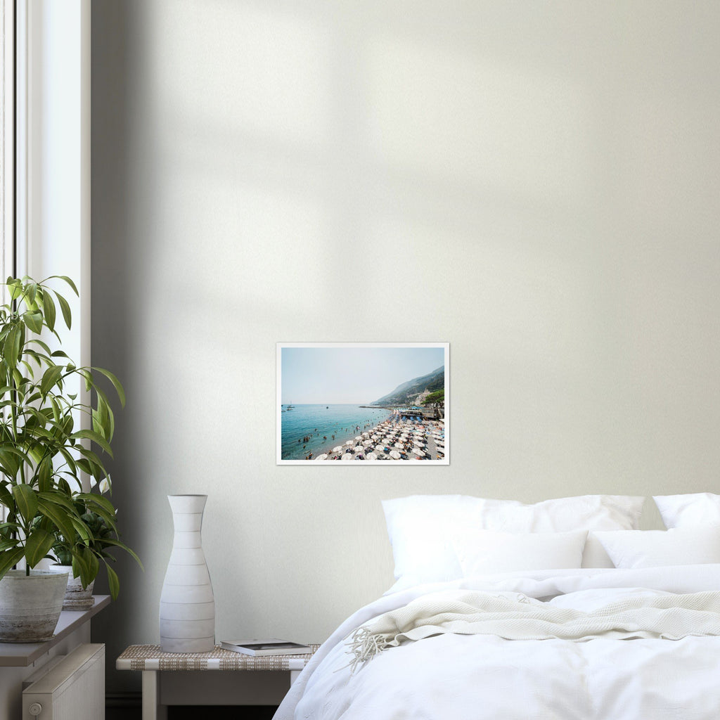 Summer Time in Amalfi Premium Semi-Glossy Print