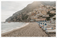 "Load image into Gallery viewer, ""Summer Vibes"" Positano Premium Semi-Glossy Print"