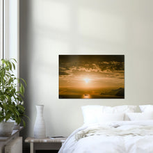 "Load image into Gallery viewer, ""Sunset"" Amalfi Coast Wall Art Canvas"
