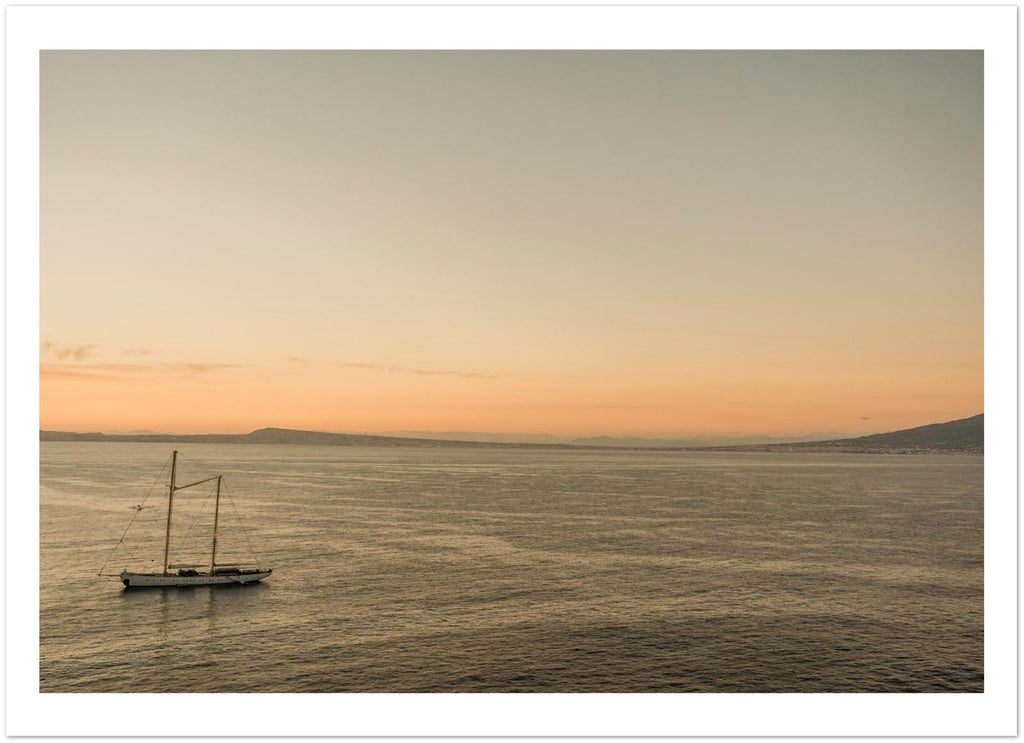 Sunset from Sorrento Premium Matte Paper Poster