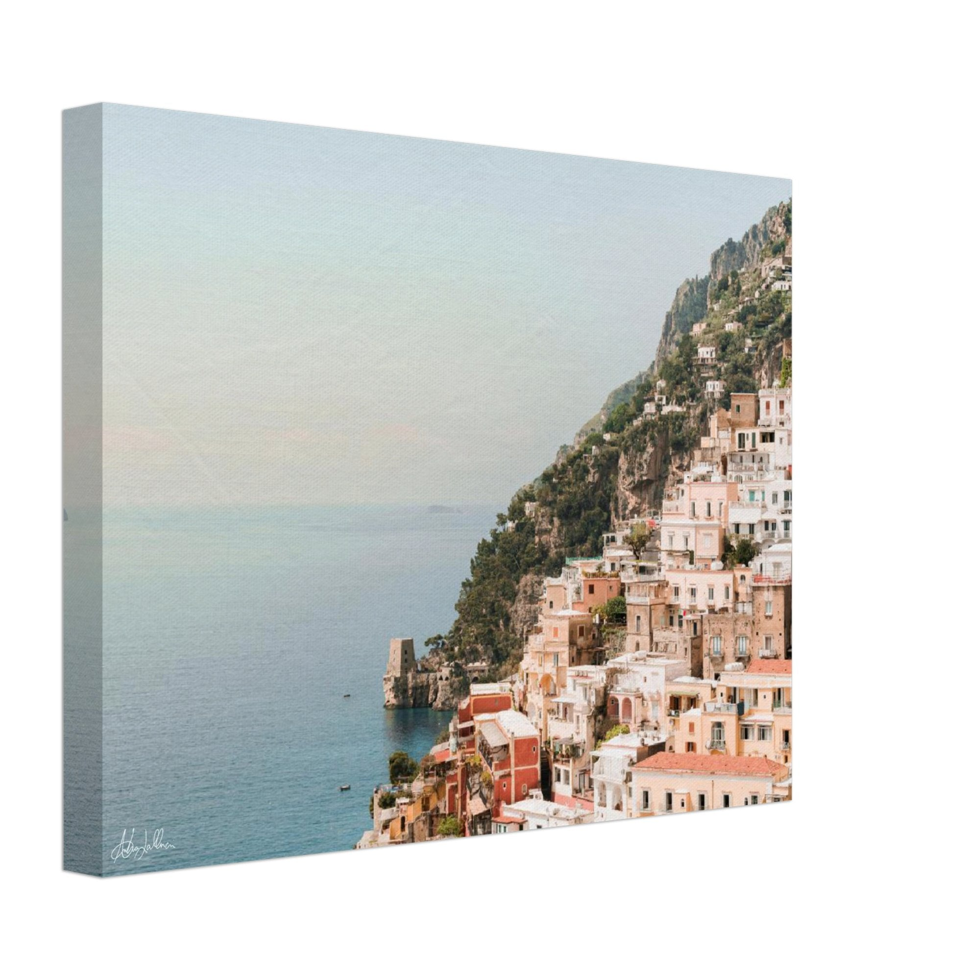"""The Cliff"" Positano Wall Art Canvas"