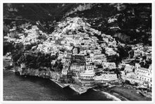 "Load image into Gallery viewer, ""Winter Time"" Positano B&W Premium Semi-Glossy Print"