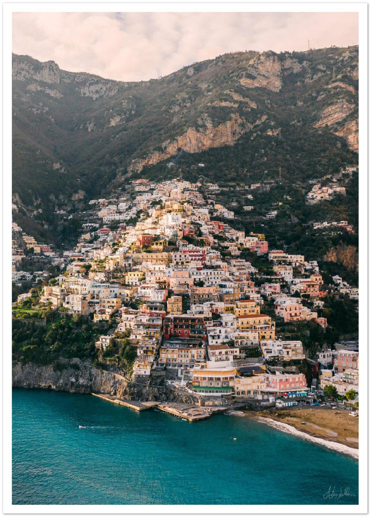"""Winter Time"" Positano Premium Semi-Glossy Prints"