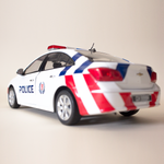1:18 SPF Fast Response Car Diecast Collectible