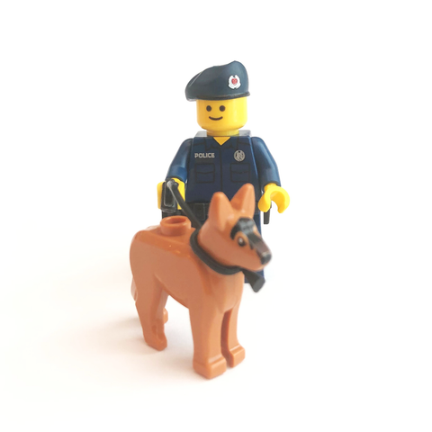 SPF K-9 Unit Mini-figure
