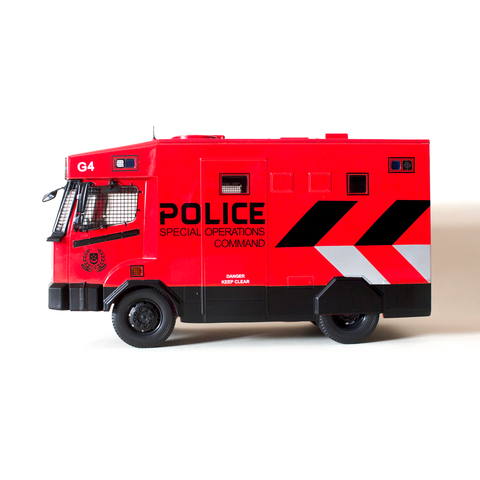 1:24 SPF Tactical Vehicle Diecast Collectible