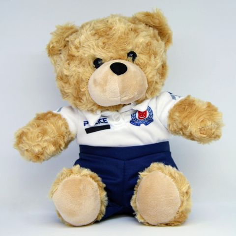 Teddy Bear in Community Policing Attire