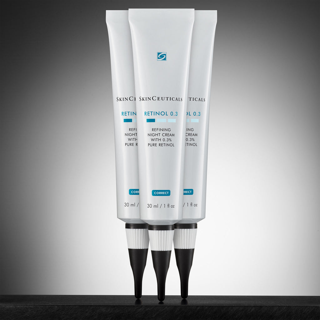 SkinCeuticals Canada Retinol Best Retinol Night Refining Cream 0.3 0.5 Best Retinol for acne and aging SkinCeuticals Mississauga SkinCeuticals Toronto GeeBeauty