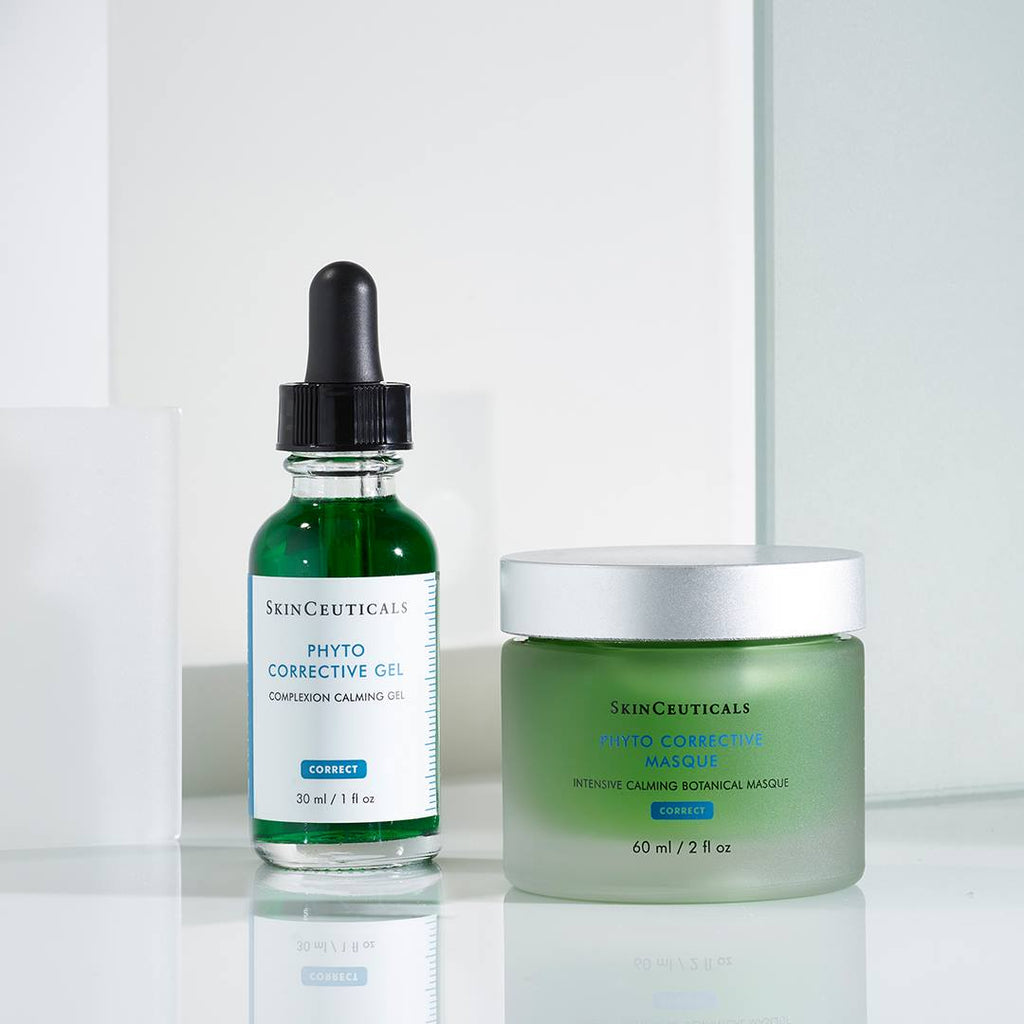 Skinceuticals Canada Skinceuticals Authorized Retailer Canada Phytocorrective Gel Skinceuticals Authorized Retailer Sensitive Skin Products How to use skinceuticals Hyaluronic Acid Skinceuticals Canada Mississauga Toronto C E Ferulic